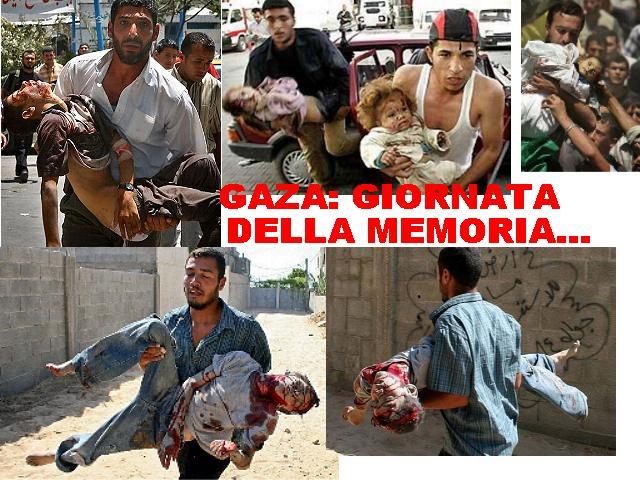 Giornata della memoria... per Gaza