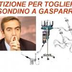 Su Facebook: petizione per togliere il sondino a Gasparri