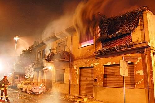 Esplosione a Viareggio