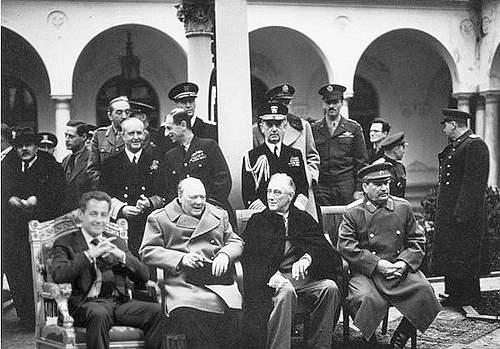 Sarkozy a Yalta