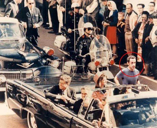Sarkozy con Kennedy