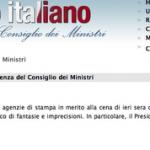 Berlusconi non ha cantato (ancora)