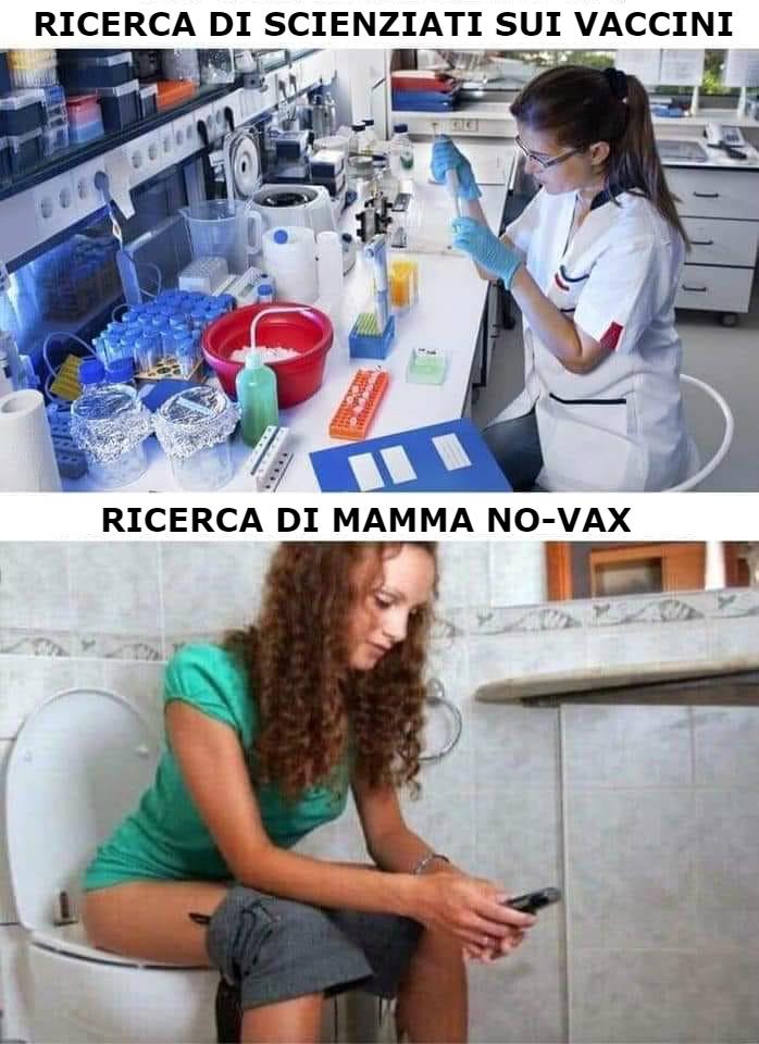 Ricerca Scienziati Vaccini Ricerca Mamma NOVax